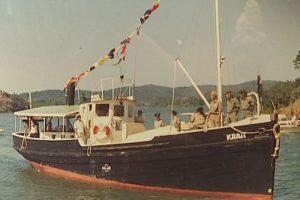 MV Krait in WW2 Sydney Wood Industries