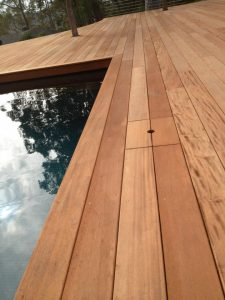 Sydney Wood Industries Mahogany Pool Decking Supplies