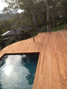 Sydney Wood Industries Mahogany Pool Decking Supplies